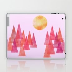 Dusk Over the Patterned Forest Laptop & iPad Skin