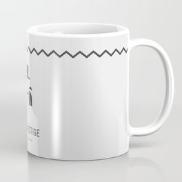 Flat Christopher Nolan movie poster: The Prestige Coffee Mug
