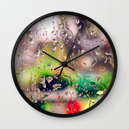 Rainy day! Wall Clock