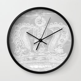 Crowning Glory {2} Wall Clock
