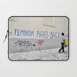 Feminism fights back Laptop Sleeve