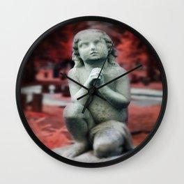 Kneel and Pray  Wall Clock
