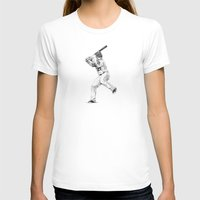 trout T-shirts featuring Mike Trout by JoshuaSooterArt