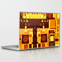 african Laptop & iPad Skins featuring African feel by clemm