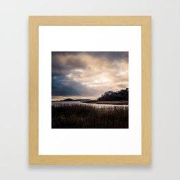 Wideness - Winter Baltic Sea Serie Framed Art Print