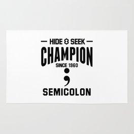 Semicolon Rug