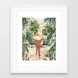 Vacation Mode Framed Art Print