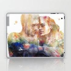 they could sense each other in the same light and in the same shadow Laptop & iPad Skin