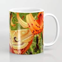 Vivid Moth Coffee Mug
