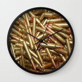 Bullets Ammo For Rifle Gun Shooting Sports or Hunting Wall Clock