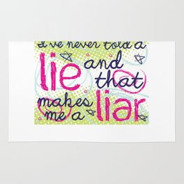Everyone Lies Rug