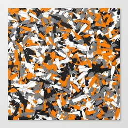 Urban alcohol camouflage Canvas Print