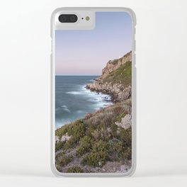Blue hour Clear iPhone Case