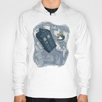hallion Hoodies featuring Falling by Karen Hallion Illustrations