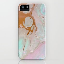 Pastels feat. Gold. iPhone Case
