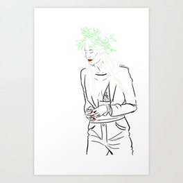 Lou Teasedale Art Print