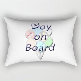 Boy on Board Rectangular Pillow