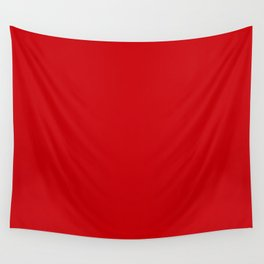 Valiant Bright Red Poppy 2018 Fall Winter Color Trends Wall Tapestry