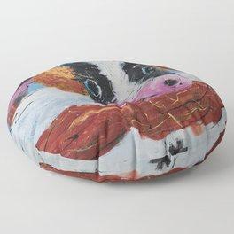 Wis-cow-sin Winter Floor Pillow