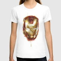 iron man T-shirts featuring Iron Man by beart24