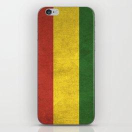Bolivia Flag (Vintage / Distressed) iPhone Skin