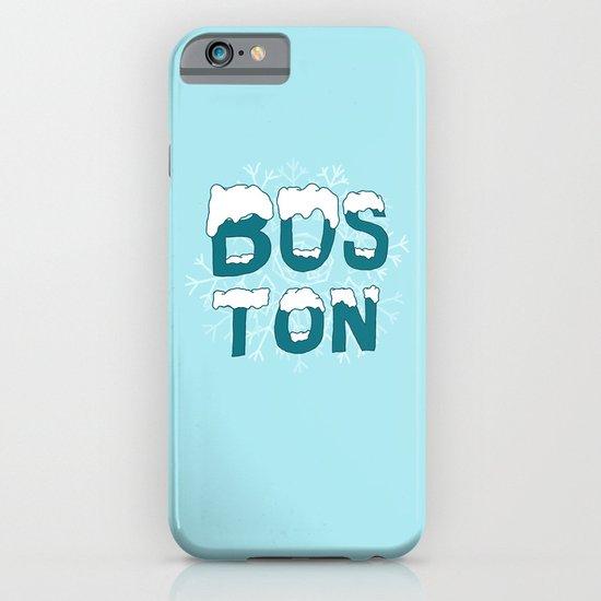 SNOWY BOSTON iPhone & iPod Case