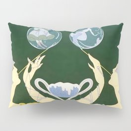 "1920's Art Deco Design ""Bubbles"" Pillow Sham"