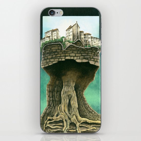 City on a tree iPhone & iPod Skin