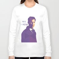 true detective Long Sleeve T-shirts featuring TRUE DETECTIVE by Sunli