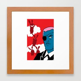 mr. weymes the billionaire 3 Framed Art Print