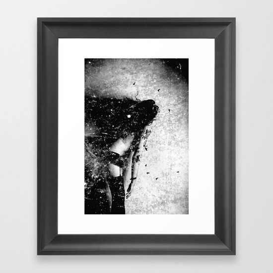 Nude art - time Framed Art Print