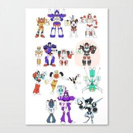 MTMTE S1 Cast Canvas Print