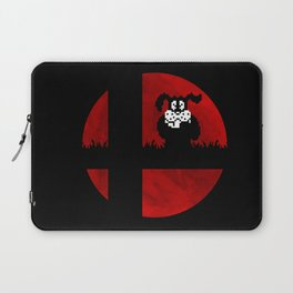 Smash and Laugh (red) Laptop Sleeve