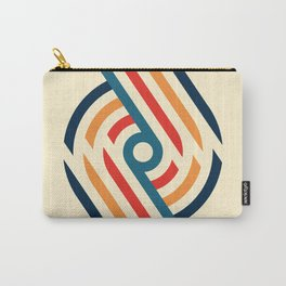 Retro Spirals  Carry-All Pouch