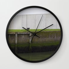 By the water Wall Clock