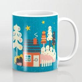 Festive Winter Hut Coffee Mug