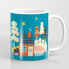 Festive Winter Hut Coffee Mug
