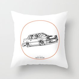 Crazy Car Art 0218 Throw Pillow
