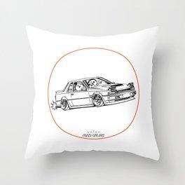 Crazy Car Art 0218 Throw Pillow