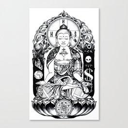 Buddha's Ultimatum 2015 Canvas Print