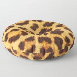 Leopard Print Floor Pillow