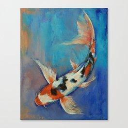 Sanke Butterfly Koi Canvas Print
