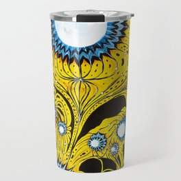 Indifinite Intersection of Emotion Travel Mug