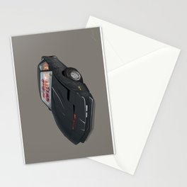 80´s tv and films cars (knight rider) Stationery Cards