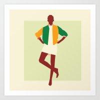 Fashion Dance 7 Art Print