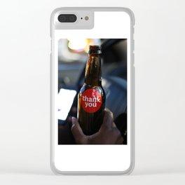 Soda Pop Clear iPhone Case