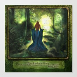 Heartwood Canvas Print