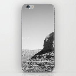 Sedona - Black and White iPhone Skin
