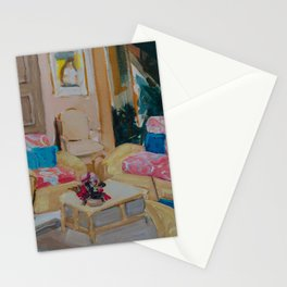 Golden Girls living room Stationery Cards