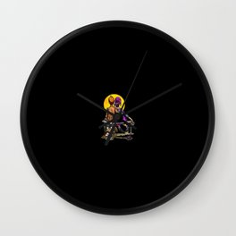 Fry Future Space Wall Clock